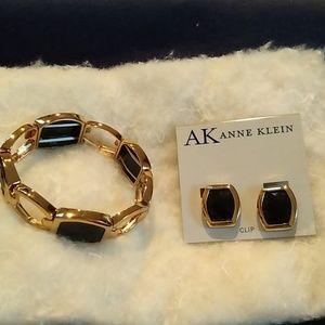 Anne Klein Earrings & Braclet